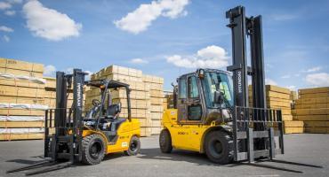 Forklifts for Lumberyards
